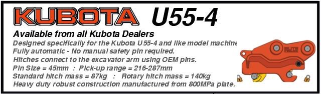 Kubota U55-4