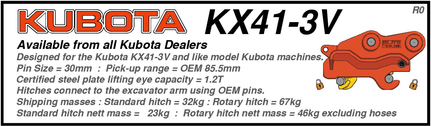 Kubota KX41-3V
